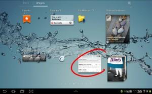 pantallazo añadir widget 2
